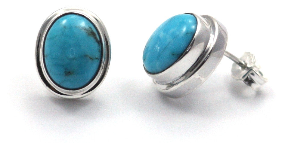 Bali Turquoise Post Stud Earrings - Kuhn's Jewelers
