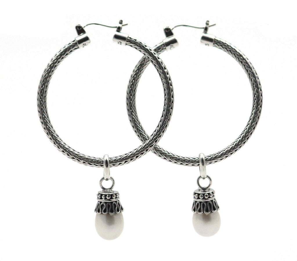 Bali Pearl Earrings - Kuhn's Jewelers