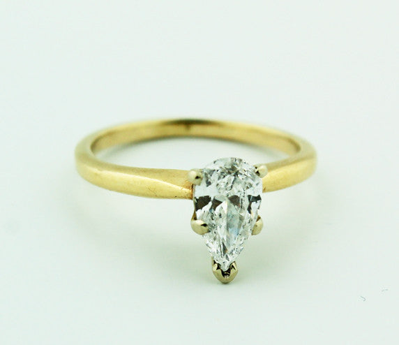 Complete Engagement Ring | Pear Diamond - Kuhn's Jewelers - 1