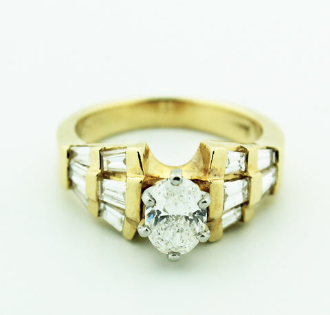 Complete Engagement Ring - Kuhn's Jewelers - 1