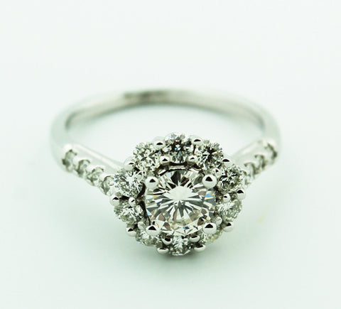 Complete Engagement Ring - Halo Collection - Kuhn's Jewelers - 1