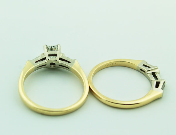 Complete Engagement Ring & Wedding Band Set - Kuhn's Jewelers - 7