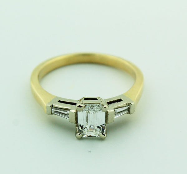 Complete Engagement Ring & Wedding Band Set - Kuhn's Jewelers - 8