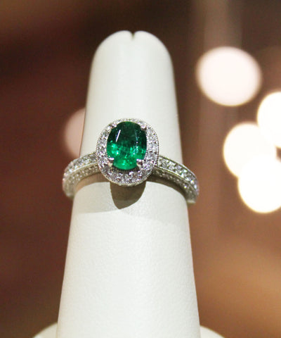 Emerald & Diamond - Kuhn's Jewelers