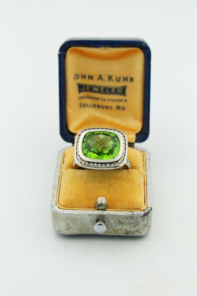 Peridot & Diamond - Kuhn's Jewelers - 3