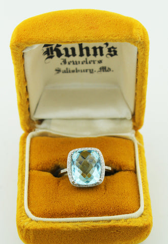Blue Topaz - Kuhn's Jewelers - 1
