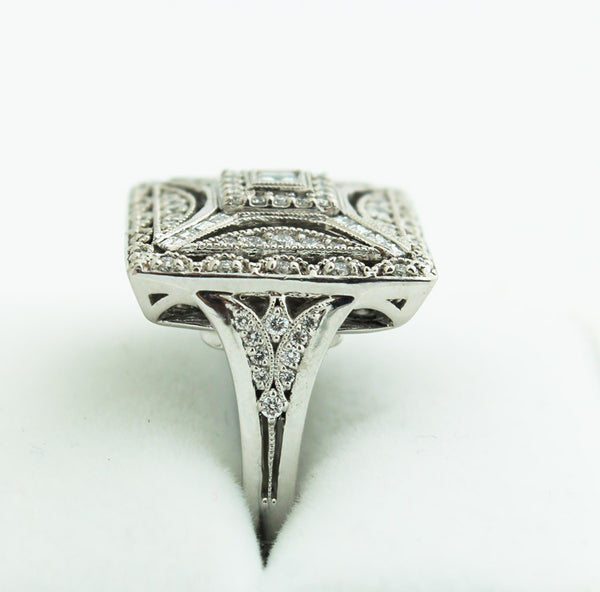 Diamond & 14K White Gold Right Hand Ring - Kuhn's Jewelers - 2