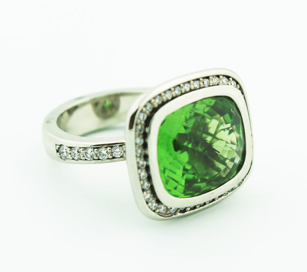 Peridot & Diamond - Kuhn's Jewelers - 1