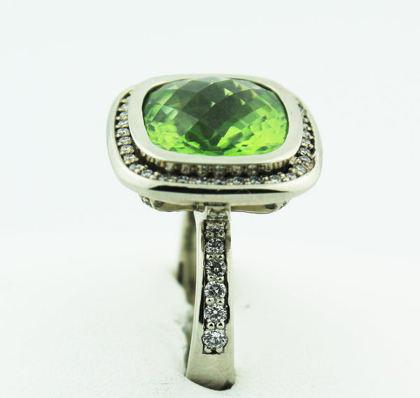 Peridot & Diamond - Kuhn's Jewelers - 2