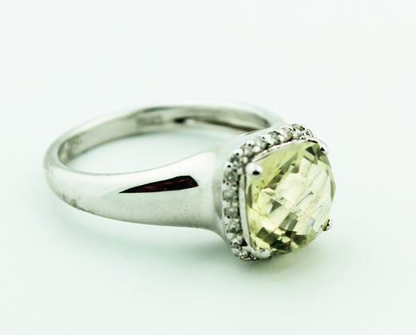 Lime Quartz & Diamond - Kuhn's Jewelers - 1