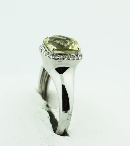 Lime Quartz & Diamond - Kuhn's Jewelers - 2