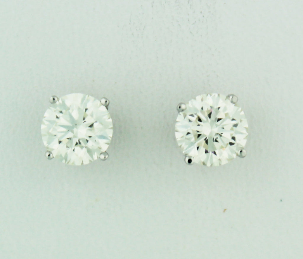 Diamond Stud Earrings - Kuhn's Jewelers