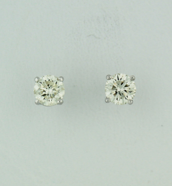 Diamond Stud Earrings - Kuhn's Jewelers - 1