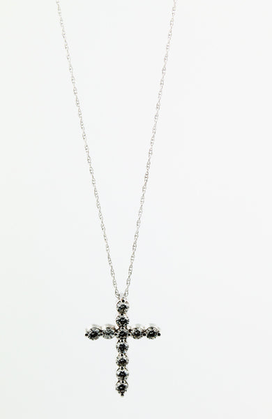 Diamond Cross Necklace - Kuhn's Jewelers - 2