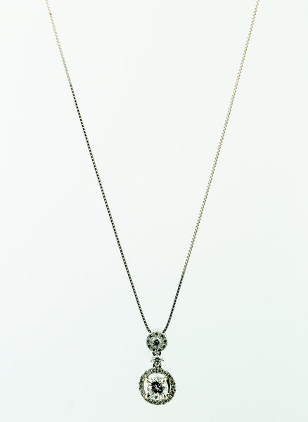 Diamond Pendant Necklace - Kuhn's Jewelers - 2