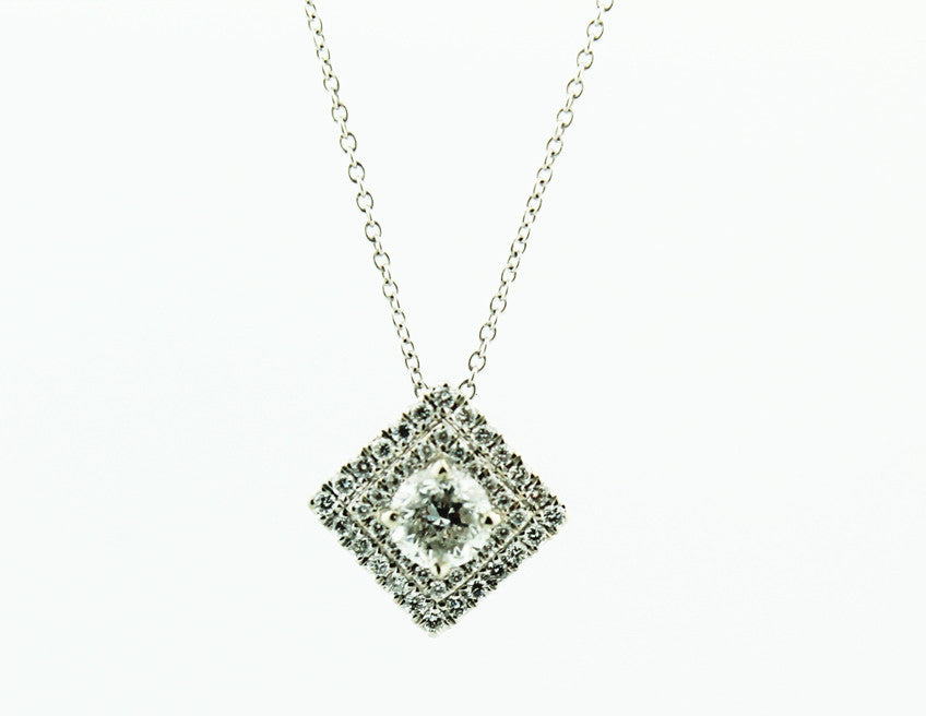 Diamond Pendant Necklace - Kuhn's Jewelers - 1