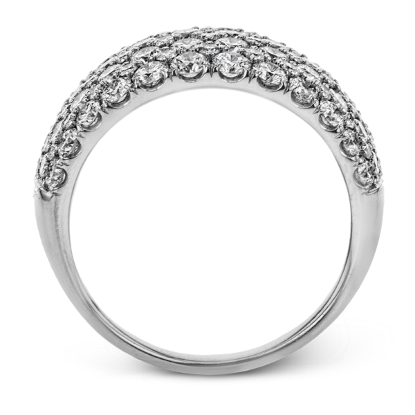 18K White Gold Anniversary Band