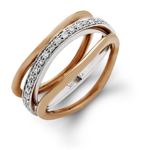 MR2255 18K White & Rose Gold - Kuhn's Jewelers