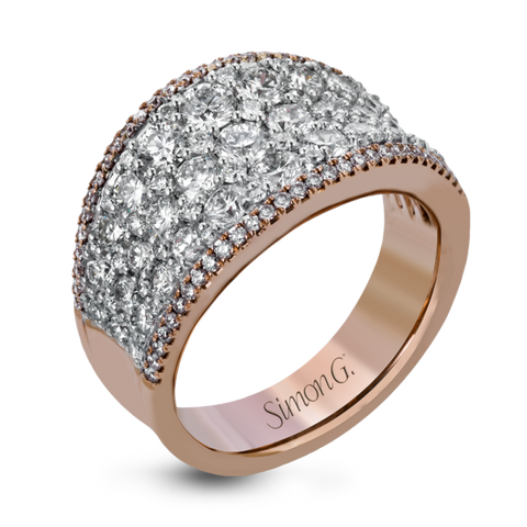 MR2619 18K Rose & White Gold Ring - Kuhn's Jewelers