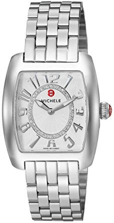 Michele Urban Mini Diamond, Diamond Dial Watch