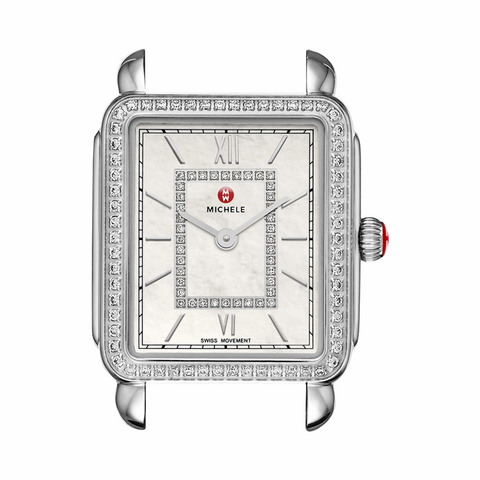 Michele Deco II Diamond Watch
