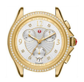 Michele Belmore Gold Watch