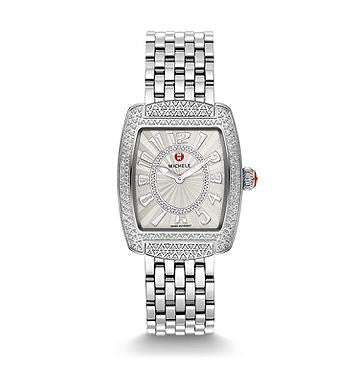 Michele Urban Mini Diamond Dial Watch & Bracelet
