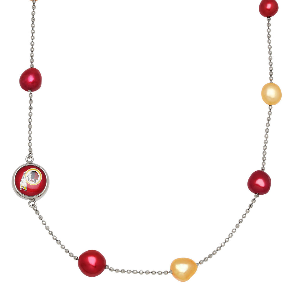 Redskins Tin Cup Necklace - Kuhn's Jewelers