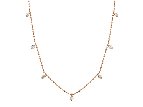 Rose Gold Cleopatra Style Necklace