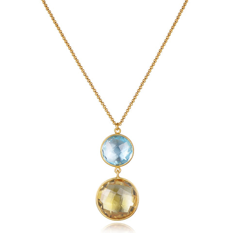 Dolce Vita Multi-Gemstone Necklace - Kuhn's Jewelers
