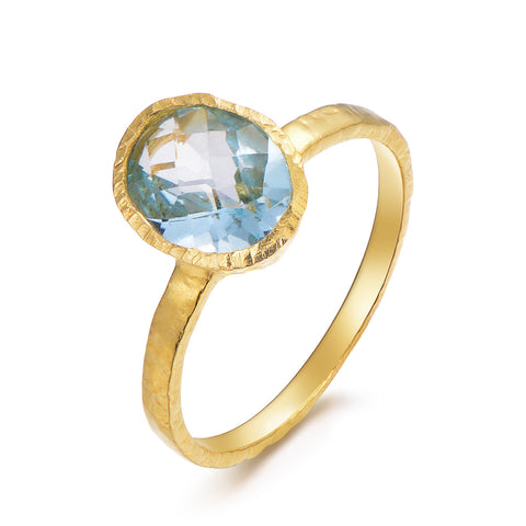 Dolce Vita Blue Topaz Ring - Kuhn's Jewelers