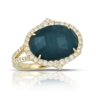 Doves - Midnight Ocean Ring - Kuhns Jewelers - R6232BTHM