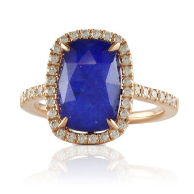 Doves - Royal Lapis Ring - Kuhn's Jewelers