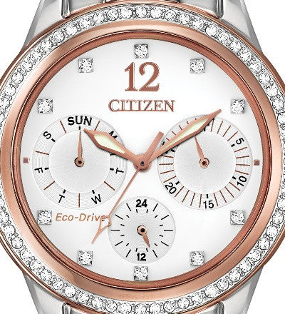 Silhouette Crystal Rose Gold Tone - Kuhn's Jewelers - 2