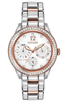 Silhouette Crystal Rose Gold Tone - Kuhn's Jewelers - 1
