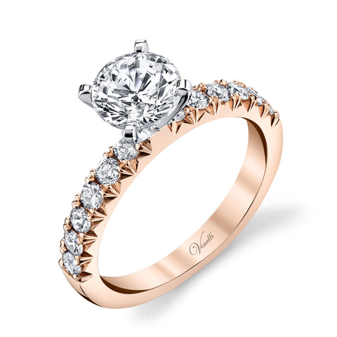 Rose Gold Diamond Solitaire - Kuhn's Jewelers