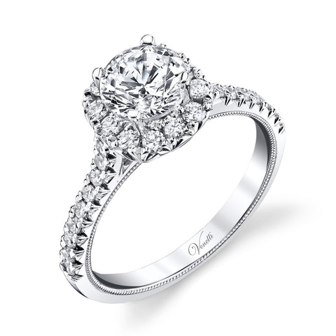 Cathedral Halo Setting - Kuhn's Jewelers