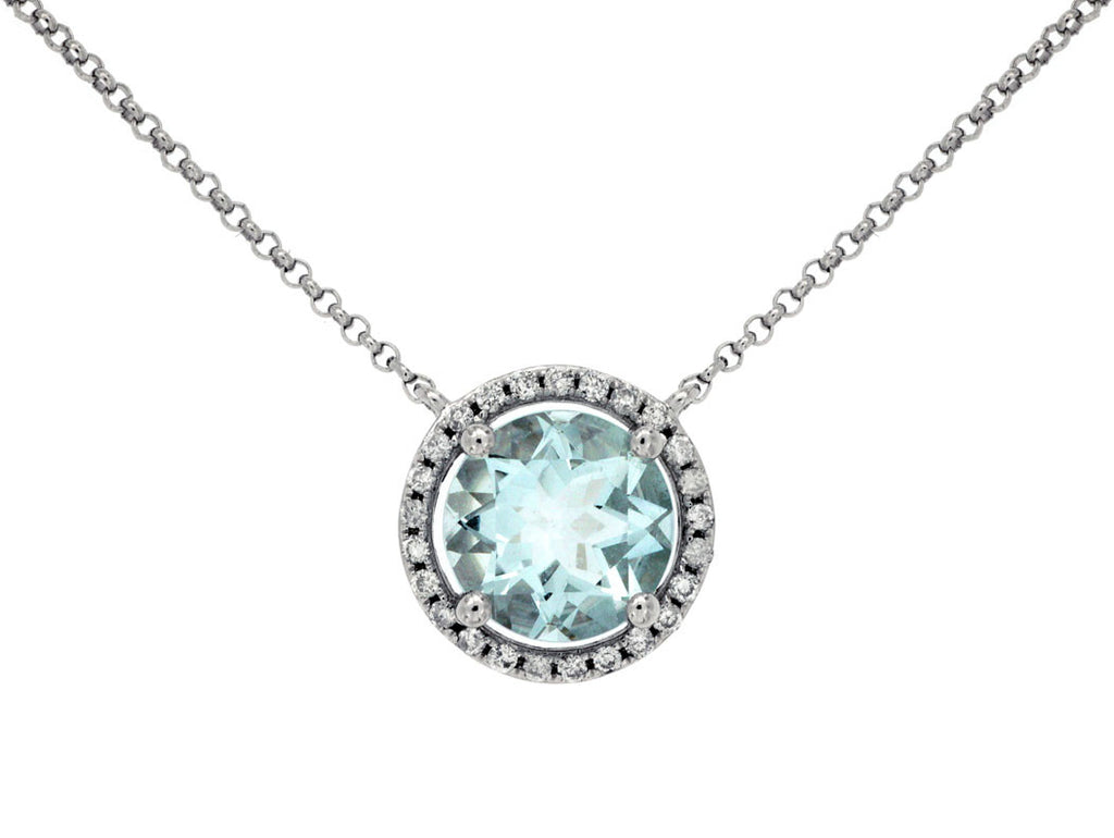 Diamond & Aquamarine - Kuhn's Jewelers