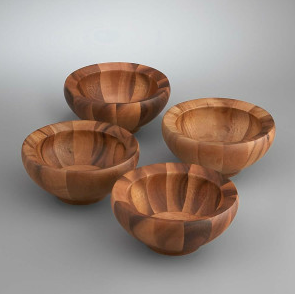 Yaro Individual Salad Bowls (Set of 4) - Kuhn's Jewelers