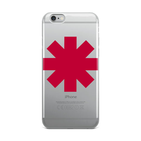 Red Hot Chili Peppers iPhone Case