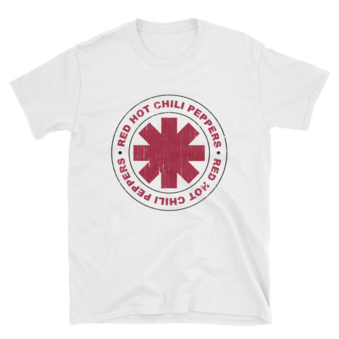 Red Hot Chili Peppers Circle T-Shirt