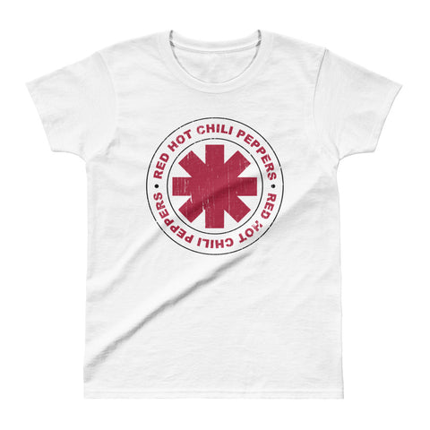 Red Hot Chilli Peppers Circle Ladies' T-shirt