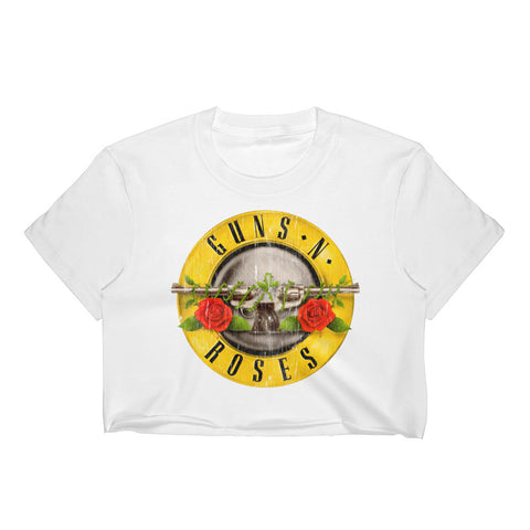 Guns N' Roses Original Crop Top