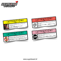 Attention Stickers