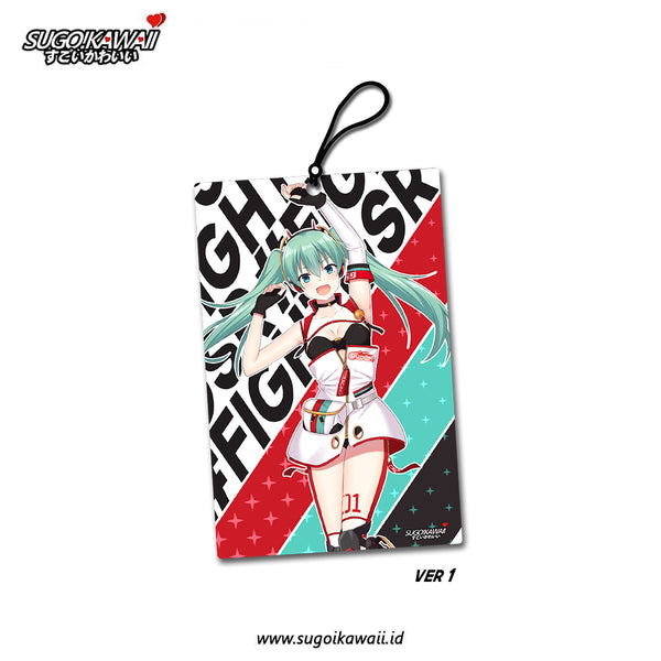 Air Freshener - Hatsune Miku Racing 2020 ver 1