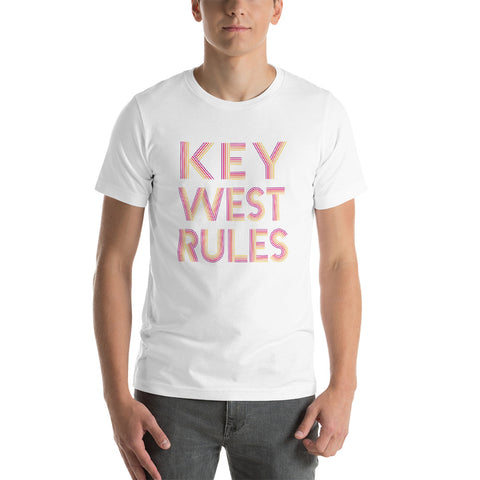 Key West Rules Short-Sleeve Unisex T-Shirt