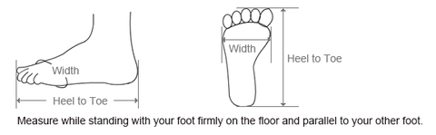 How To Measure Asian Size Shoe