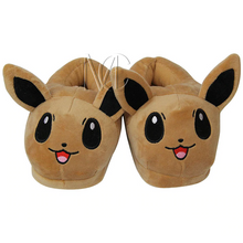 Load image into Gallery viewer, Evee Pokemon Slippers