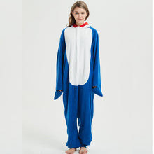 Load image into Gallery viewer, Shark Kigurumi Onesie