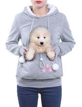 Load image into Gallery viewer, Cuddle Pouch Pet Hoodie